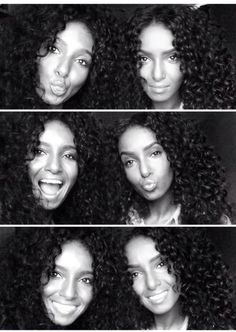 Curly twins!