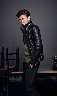 Pure Pretty: Ji Chang Wook | The Fangirl Verdict Ji Chang Wook, Older Men, Korean Actors, Kdrama, Tv Series, Fangirl, Leather Jacket, Pure Products, Guys