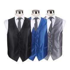 2017 latest Custom Mens polyester suit waistcoat