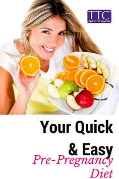 Your quick and easy pre-pregnancy diet #fertilitytips