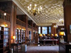 The Morrison Reading Room at Doe Library at UC Berkeley.