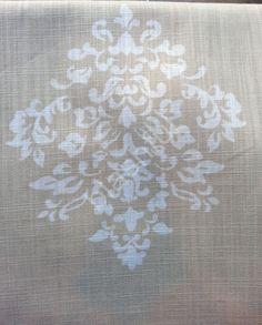 *NEW* TAHARI Medallion Damask Tan Beige Ivory 2 Window Curtain Panels 104x96