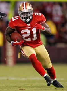"""I want to be something special in this league. Every opportunity I get, I'm going to try my best to be special. We have three great backs on this team. I'm just going to train hard and compete for the starting job next year."" -- Frank Gore"