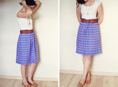 handmade summer skirt