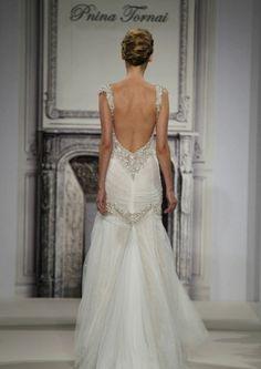 Vestidos de novia 2015: Diseños con espalda descubierta