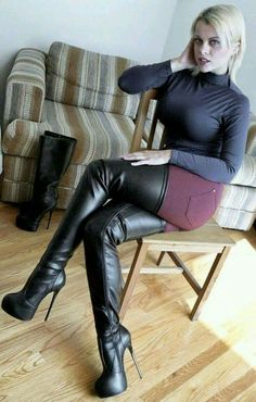 98b473715ed Boots thigh length hottie. Stiletto Boots