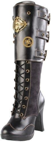 Steampunk Bumblebee Boot, alternative angle.