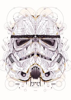 star wars by Yo Az, via Behance