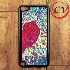 Couple Colorful Heart 2 iPod 5 Case