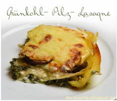 "Grünkohl-Lasagne und Spinat-Soufflé aus ""Täglich vegetarisch"" von Hugh Fearnley-Whittingstall - s-Küche Pasta, Spaghetti, Eggs, Meat, Chicken, Breakfast, Food, Spinach, Lasagna"
