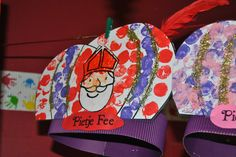 welkom in de Julesklas: onze sintknutsels Activities For Kids, Crafts For Kids, Saints Days, Craft Work, Decor Crafts, Christmas Crafts, Preschool, December, Stage