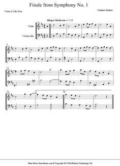 1 Theme Sheet Music For Violin