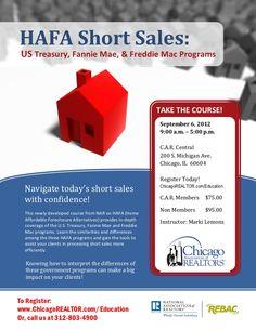 2012 Home-Affordable-Foreclosure-Alternative, #HAFA, #HAMP, #HARP 2.0. $75.00 per person.