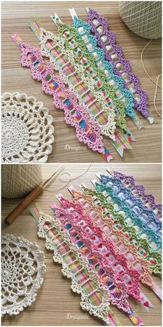 Quick and Easy Ways to Crochet a Bookmark - Life ideas Crochet Bookmark Pattern, Crochet Bookmarks, Crochet Books, Crochet Crafts, Crochet Doilies, Crochet Flowers, Crochet Projects, Crochet Cord, Single Crochet Stitch
