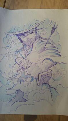 #samurai #metetintas