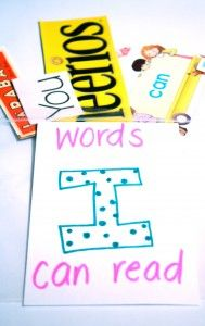 Words I Can Read Scavenger Hunt. Super fun and simple way to build kids' reading confidence. {Playdough to Plato}