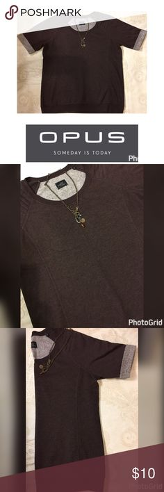 OPUS Someday is Today Size 38 M Burgundy Top OPUS Someday is Today Burgundy Top - Folded Sleeves Size 38 M Material is so soft OPUS Someday is Today Tops