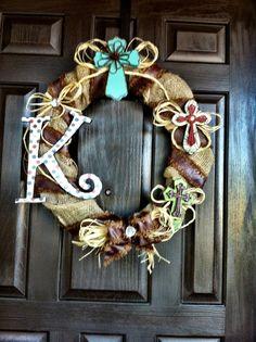 Cowboy Wreath