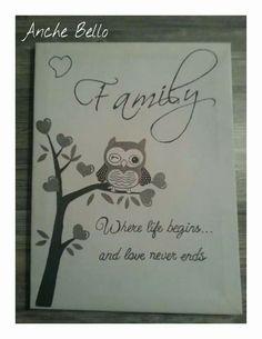 Canvasbord Family