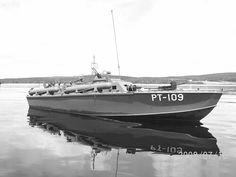The most famous PT boat in WW II...skipper John F Kennedy's PT 109