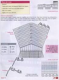 Resultado de imagem para ropa de barbie tejida a crochet grafico