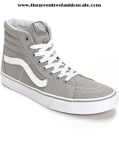 d5de39df0ee078 Fashion Sneakers For Women - Vans Sk8-Hi Skate Shoes (Mens) -