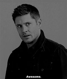 supernatural. The tiniest smile. But still a smile