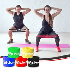 78e80b7d1b Amazon.com   Limm Resistance Bands Exercise Loops - Set of 5
