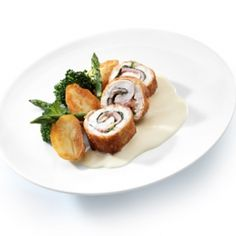 Cordon bleu royal met saus suprême | Debic.com