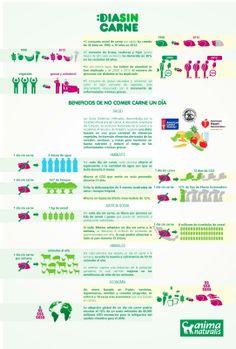 Infografía: Un día sin carne - EcoSiglos