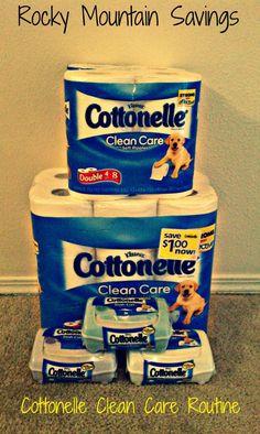 Cottonelle Clean Care Routine #CottonelleCleanCrew