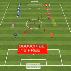 Kids Soccer Drills, Defensive Soccer Drills, Soccer Shooting Drills, Football Coaching Drills, Soccer Training Drills, Soccer Workouts, Soccer Practice, Soccer Skills, High School Soccer