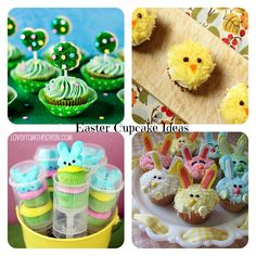 Hoppin' for these adorable Easter cupcakes!!