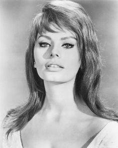 Sophia Loren. I'm probably biased because she's Italian...and I'm Italian...but she's beautiful!