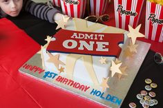 And the Oscar goes to… Hollywood themed birthday party. Insert your child's phot and name in classic movie posters, like Casablanca.  Cake and game ideas too.