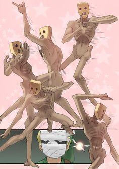 Redeads band dance | #Zelda #OoT #weird