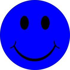 Smiley Bleu