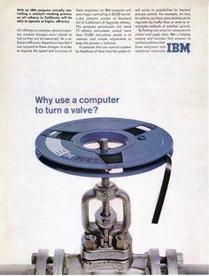 IBM computer Ad, 1961