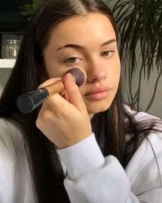 Edgy Makeup, Cute Makeup, Natural Summer Makeup, Natural Makeup, Contour Makeup, Skin Makeup, Maquillage On Fleek, Everyday Makeup Tutorials, Summer Makeup Tutorials