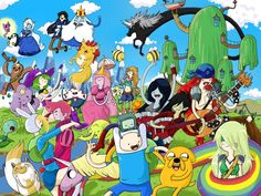 Adventure time just ask to be added