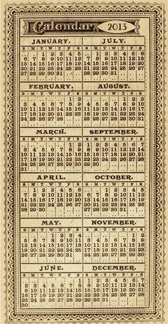 mark your calendar…from tim holtz