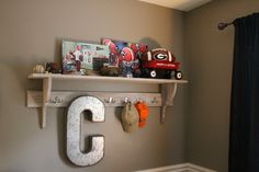 Project Nursery - this would be cute to do with Gators memorabilia