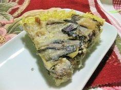 torta al radicchio in crosta di riso #glutenfree #senzaglutine #tortasalata  #ricettalight