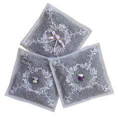 lavender filled voile sachet