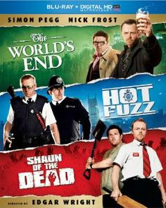 Amazon.com: The World's End / Hot Fuzz / Shaun of the Dead Trilogy (Blu-ray + Digital HD with UltraViolet): Simon Pegg, Nick Frost, Kate Ash...