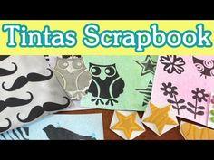 Aplicadores Tinta Scrapbooking / Tutorial Scrapbook - YouTube