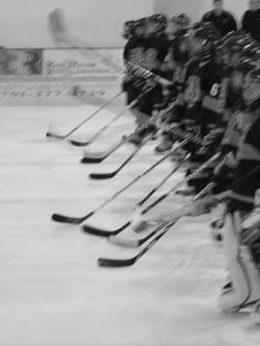 Hockey can be fast-paced and exciting!  Who is your favorite team?  #hockey #sports