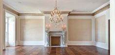 A smaller living area inside The Stone Mansion, Alpine, NJ
