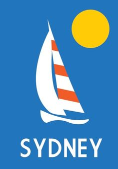 Sydney Boat Poster - Custom Canvas Company - Custom Canvas Company