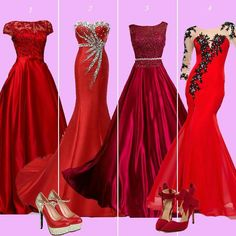 Red gowns